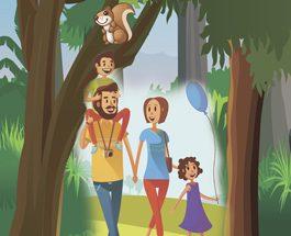 Безопасность в лесу!