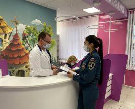 Комплексная проверка детских поликлинических отделений в Василеостровском районе
